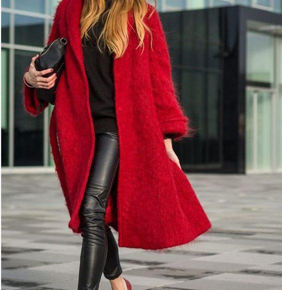موديلات معطف الشتاء