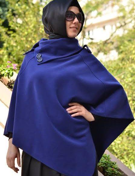 صورة تصميم ملابس شتوية تركية للمحجبات