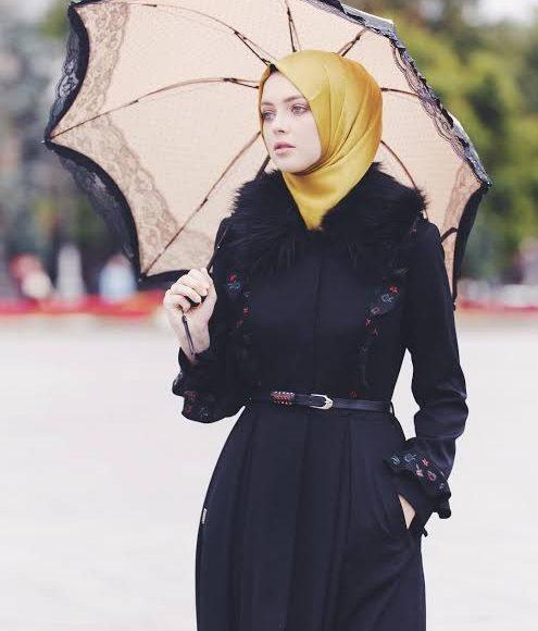 ملابس شتوية تركية للمحجبات