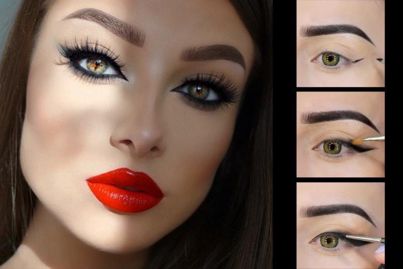 خطوات تطبيق مكياج العيون لصاحبات العيون الغائرة