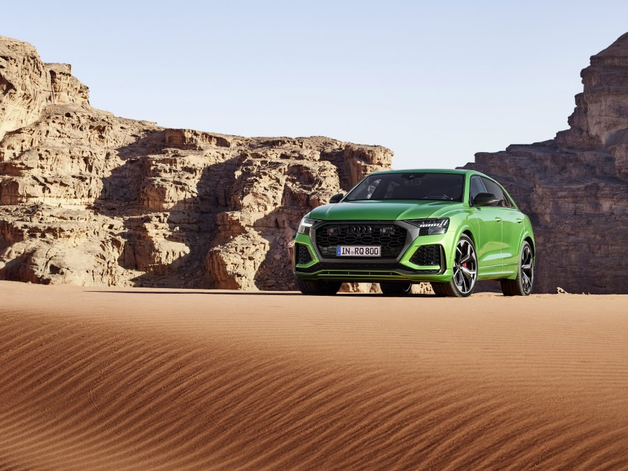 السيارة ذات الأداء الرياضي الأكثر تفوقاً في فئة Q: Audi RS Q8
