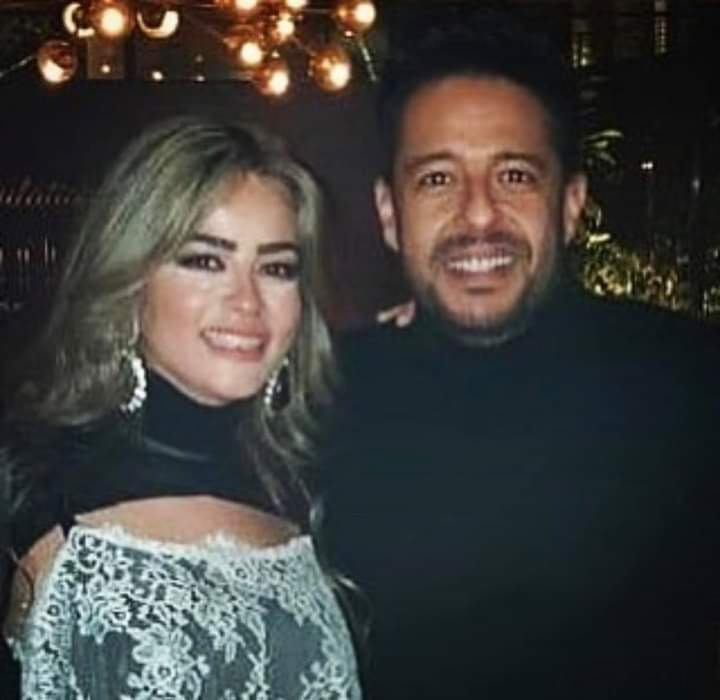 محمد حماقي وزوجته نهلة الحاجري