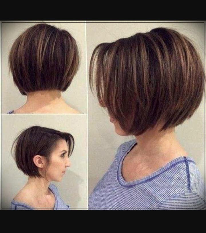 صور لأبرز صيحات موضة قصات شعر البنات للشعر القصير