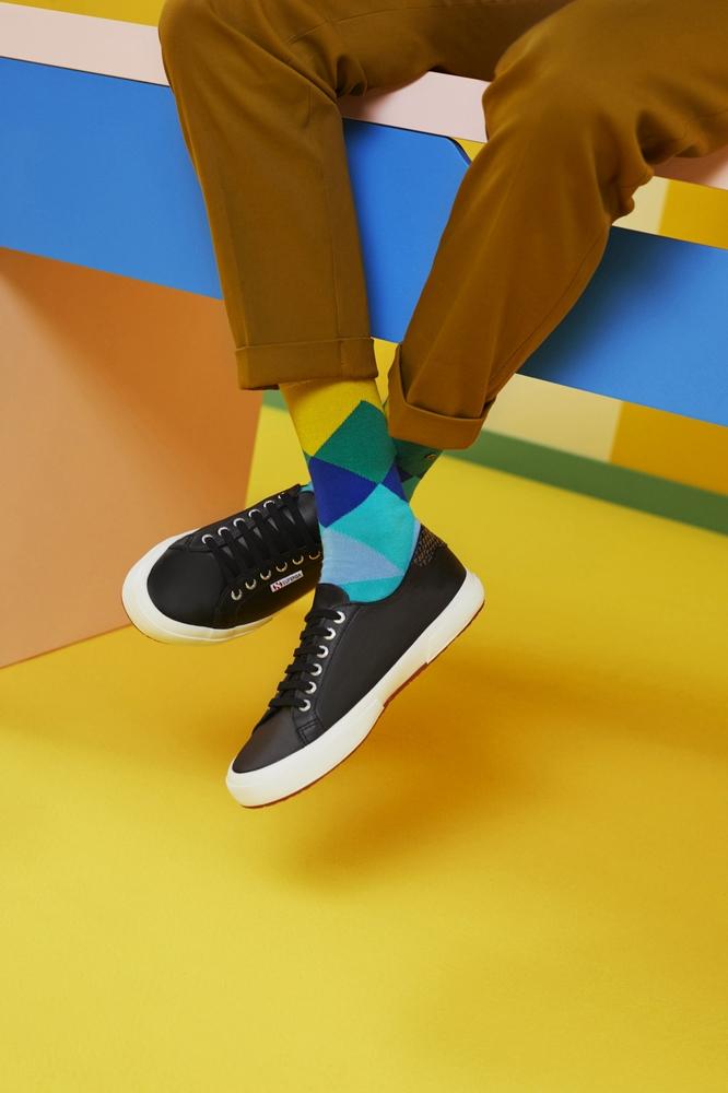 أحذية مزدوجة من SUPERGA X YOOX