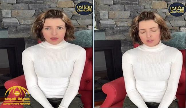 فيديو فنانة أمريكية تجود آية الكرسي بلا أخطاء