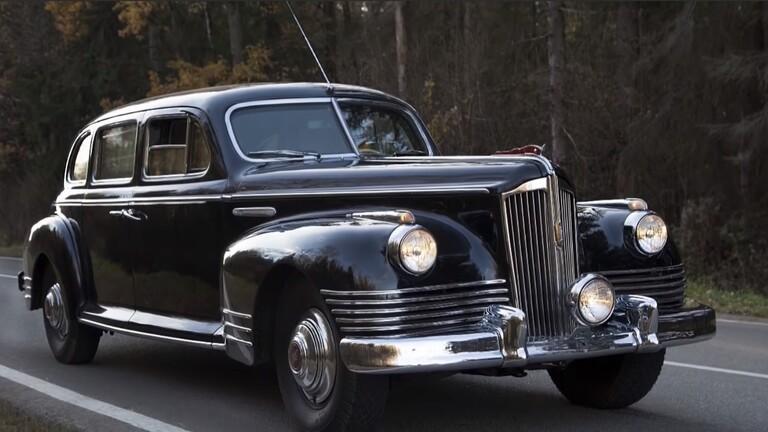 الداخلية الروسية تعلن سرقة سيارة ستالين الفخمة