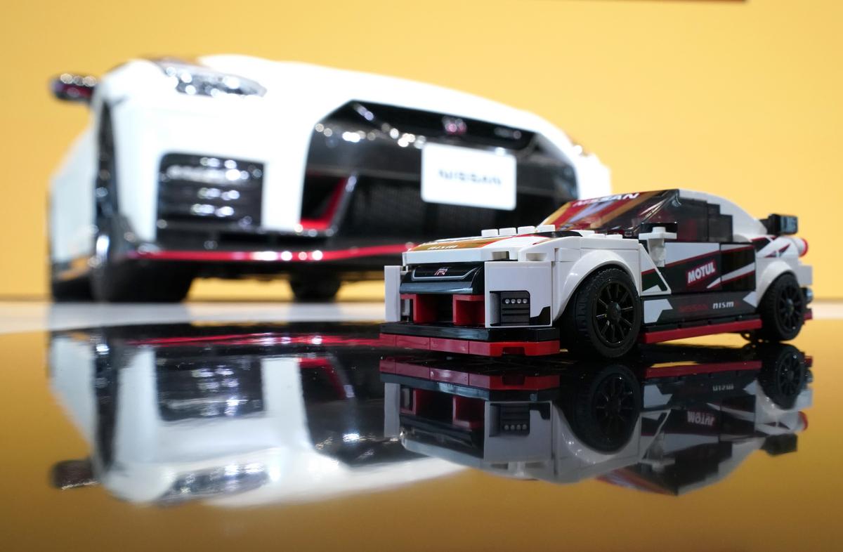 مجموعة ليغو تكشف عن نموذج ليغو رائع من سيارة نيسان GT-R NISMO