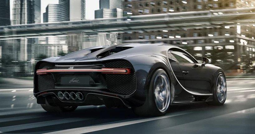 بوغاتي تعلن عن نسخة خاصة من سيارة chiron noire الفارهة