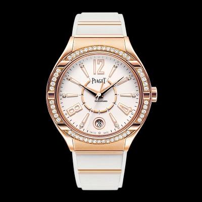 صورة ساعة يد نسائية فاخرة من بياجيه