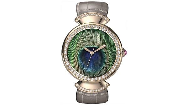 ساعة يد نسائية فاخرة من بولغاري