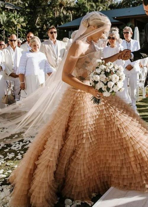 أحدث صيحات فساتين الزفاف في 2020
