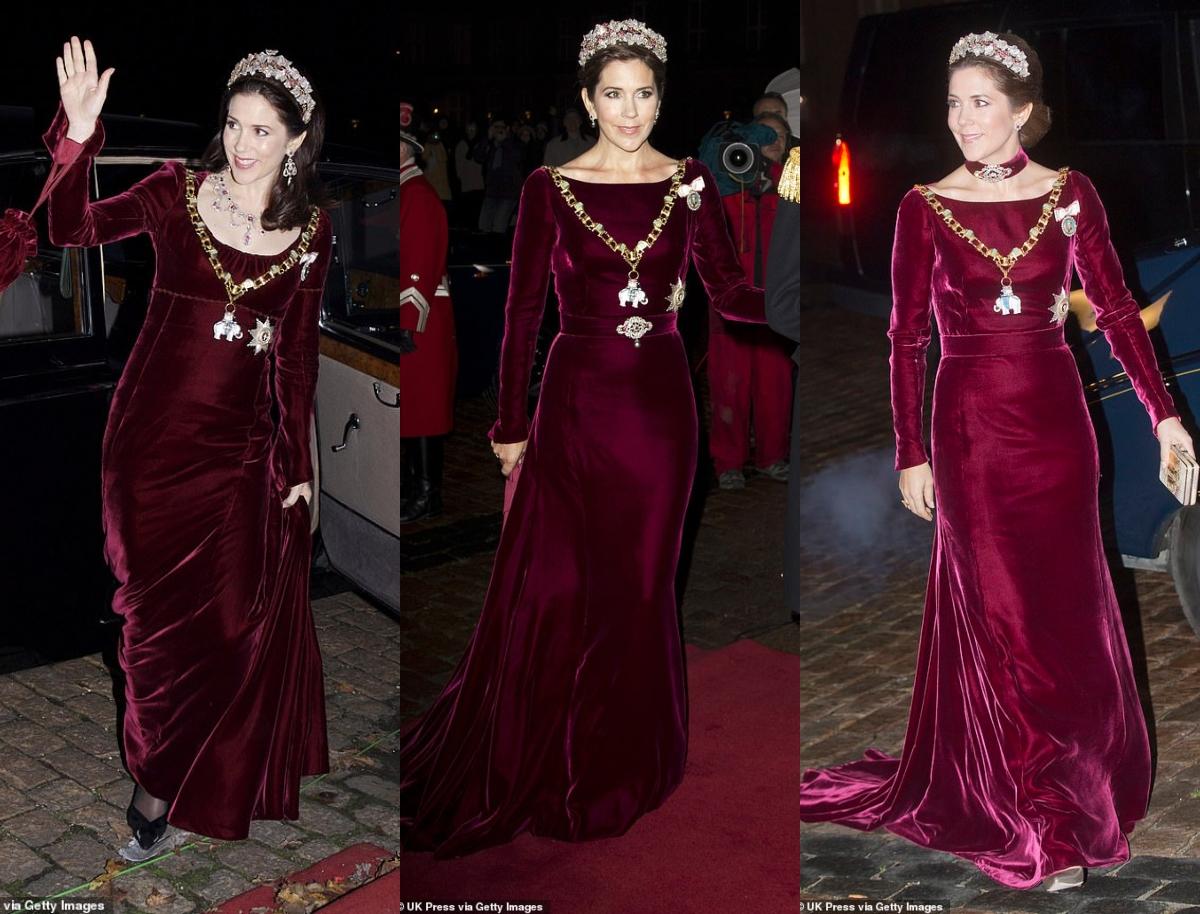 أنيقة وموفرة.. الأميرة ماري ترتدي نفس الفستان للمرة الرابعة