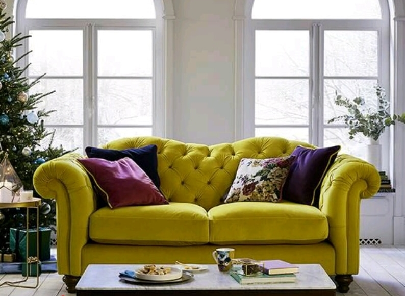 كيف تختارين لون الكنب لكل غرفة داخل المنزل