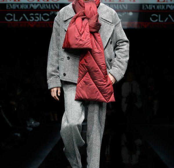 عرض أزياءEmporio Armani في ميلانو