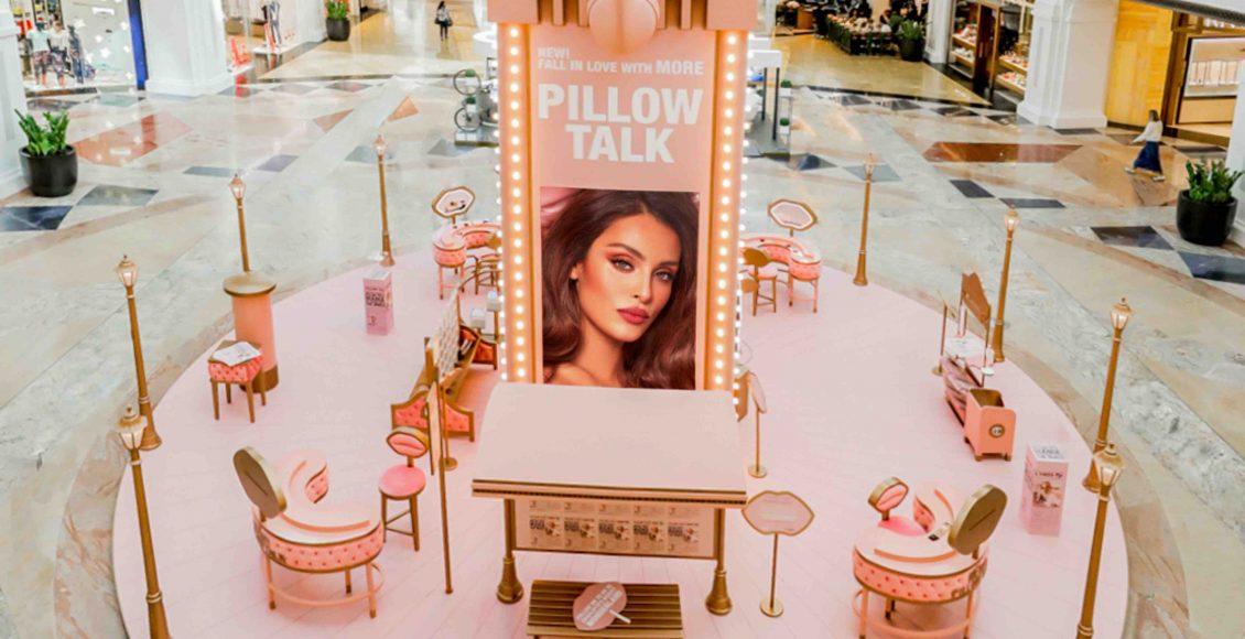 شارلوت تلبوري تطلق في مول الإمارات متجر NEW PILLOW TALK POP-UP