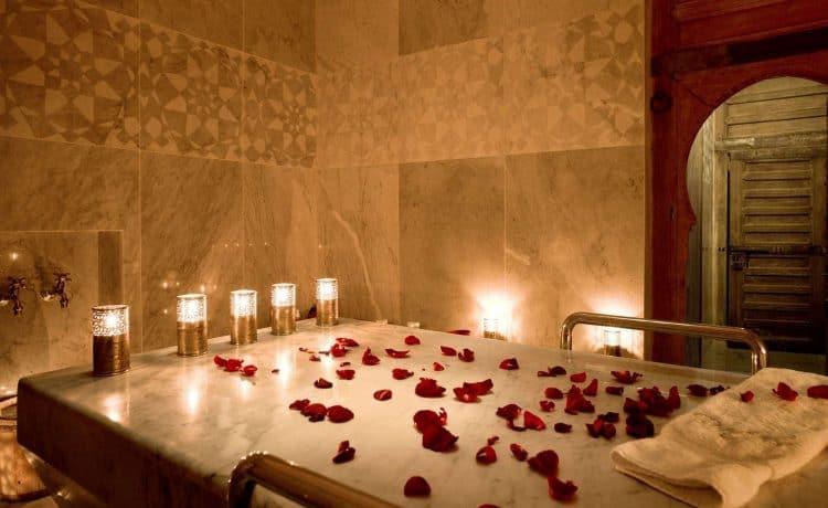 انواع حمامات العروسة في المنزل