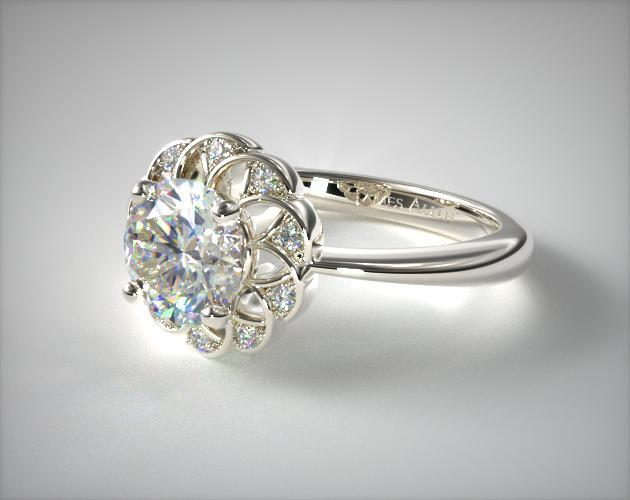 خاتم الماس في الخطوبة لعرائس 2020