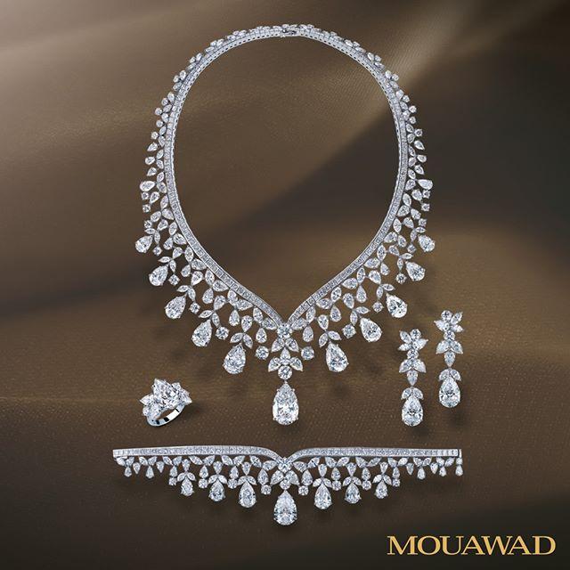 اطقم المجوهرات للعروس من معوض