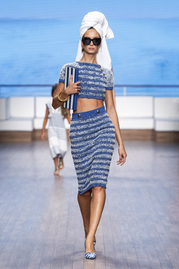 اليزابيتا فرانكي عرض أزياء ربيع - صيف 2020