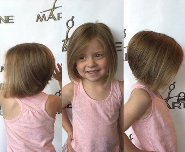 للشعر القصير قصات شعر اطفال بنات قصير جدا