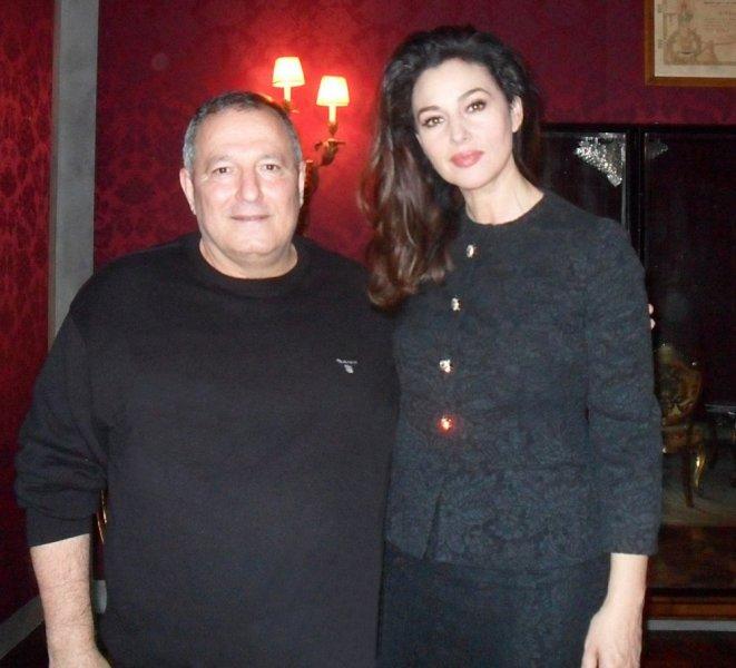 محاور المشاهير عدنان الكاتب في لقاء خاص مع Monica Bellucci