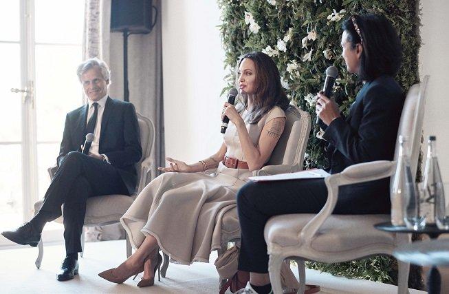 محاور المشاهير عدنان الكاتب يحاور النجمة العالمية أنجلينا جولي