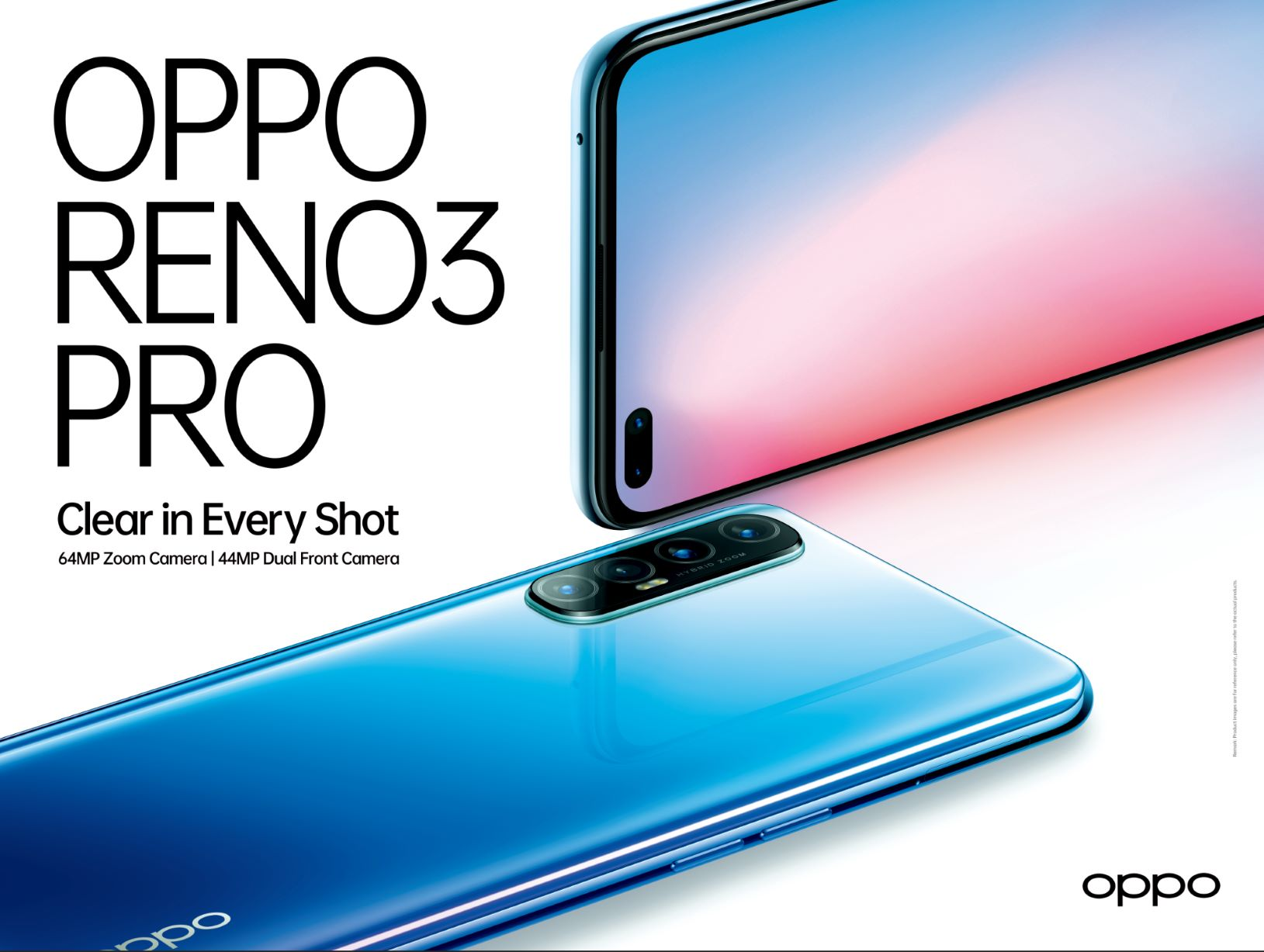 OPPO تطلق سلسلة هواتفها Reno3 بمزايا تصوير احترافية