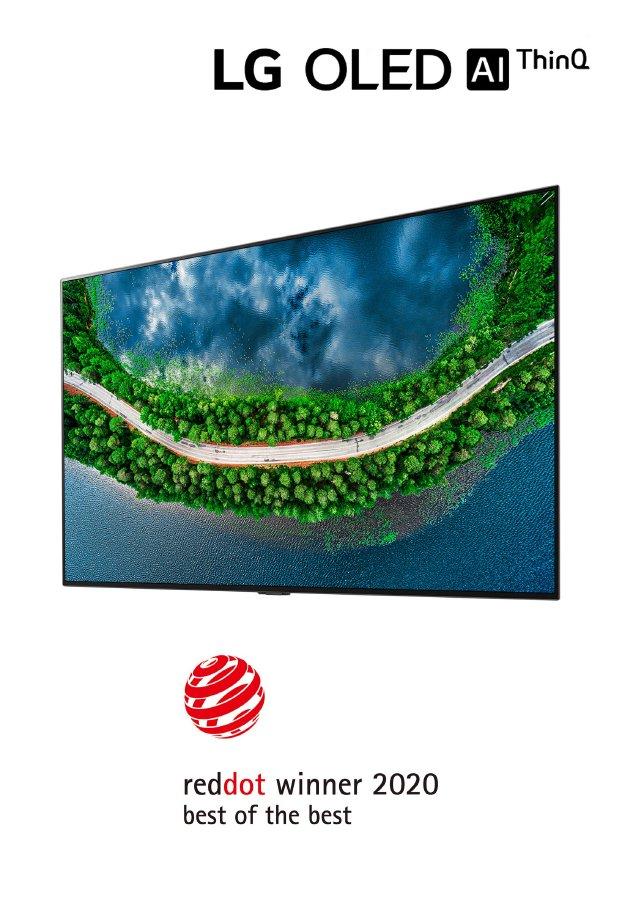 تلفزيون LG OLED يحصد أهم الجوائز من جديد في
