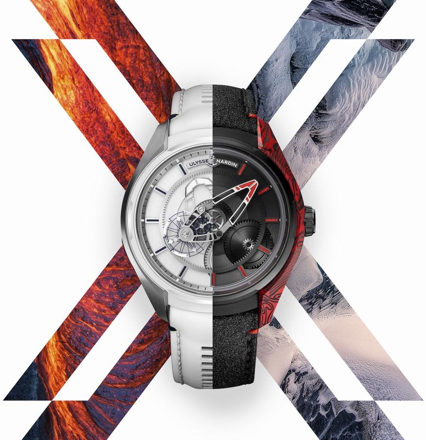 """ساعة """"FREAK X – فريك إكس"""" تجمع الجليد والنار"""