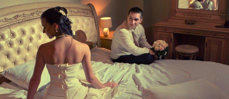 مخاوف العروس من ليلة الدخلة
