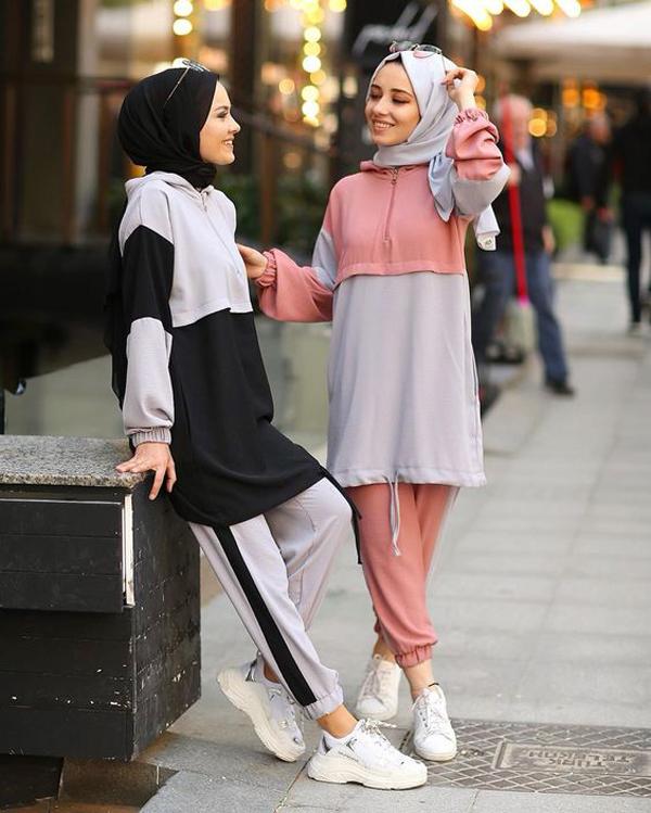 موديلات ملابس رياضية للبنات المحجبات