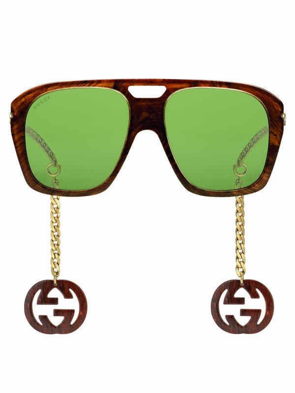 غوتشي تطلق مجموعة محدودة الإصدار من النظارات الشمسية