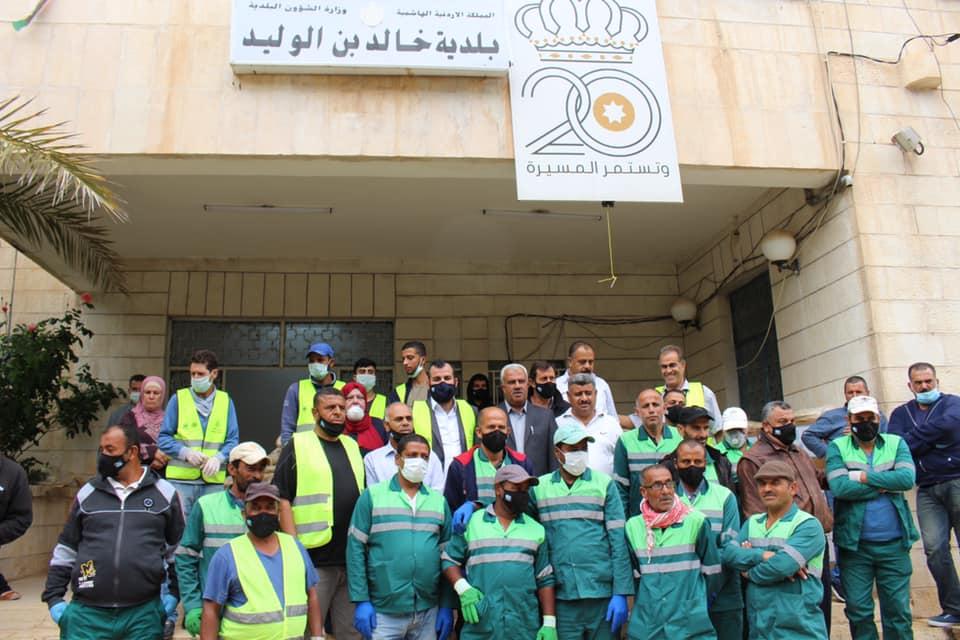 فرج العمري : دعم عمال الوطن في سلم أولوياتنا
