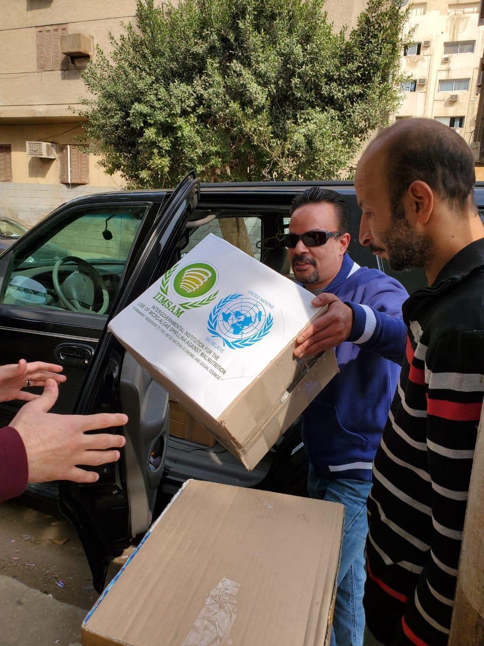 """مبادرات إنسانية كبيرة للمستشار وائل فايد في مصر دعماً لجهود منظمة """"إمسام"""""""