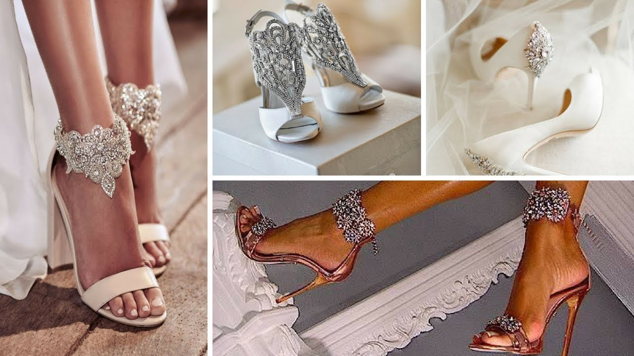 موديلات احذية العروس