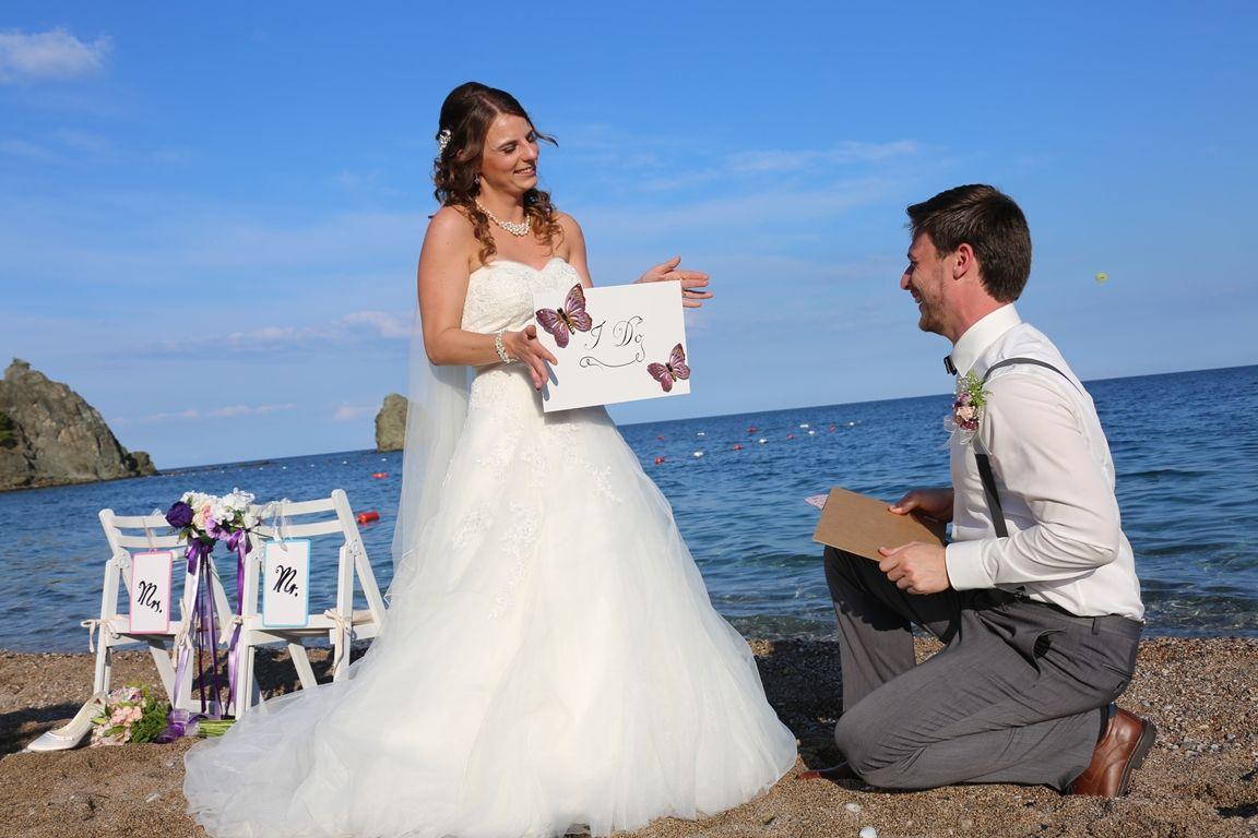 ديكور حفل زفاف على الشاطئ