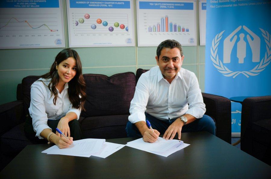 أسيل عمران تنضم إلى مجموعة الداعمين رفيعي المستوى للمفوضية السامية لشؤون اللاجئين