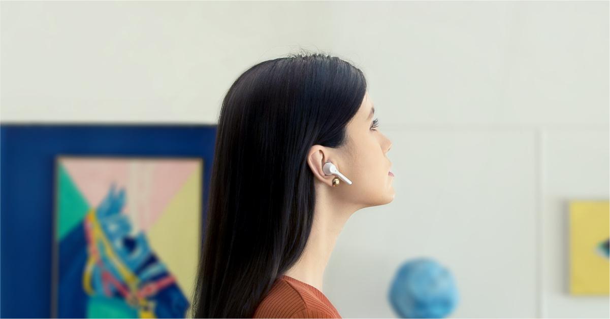 سماعات HUAWEI FreeBuds 3i مع تقنية إلغاء الضجيج بالكامل