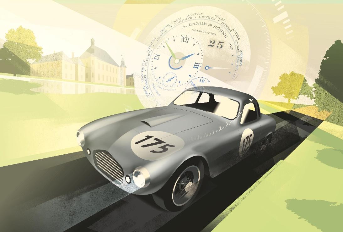 ايه. لانغيه أند صونه مقابل كونكور فيرتشوال مسابقة السيارات الكلاسيكية لدعم منظّمة اليونيسيف