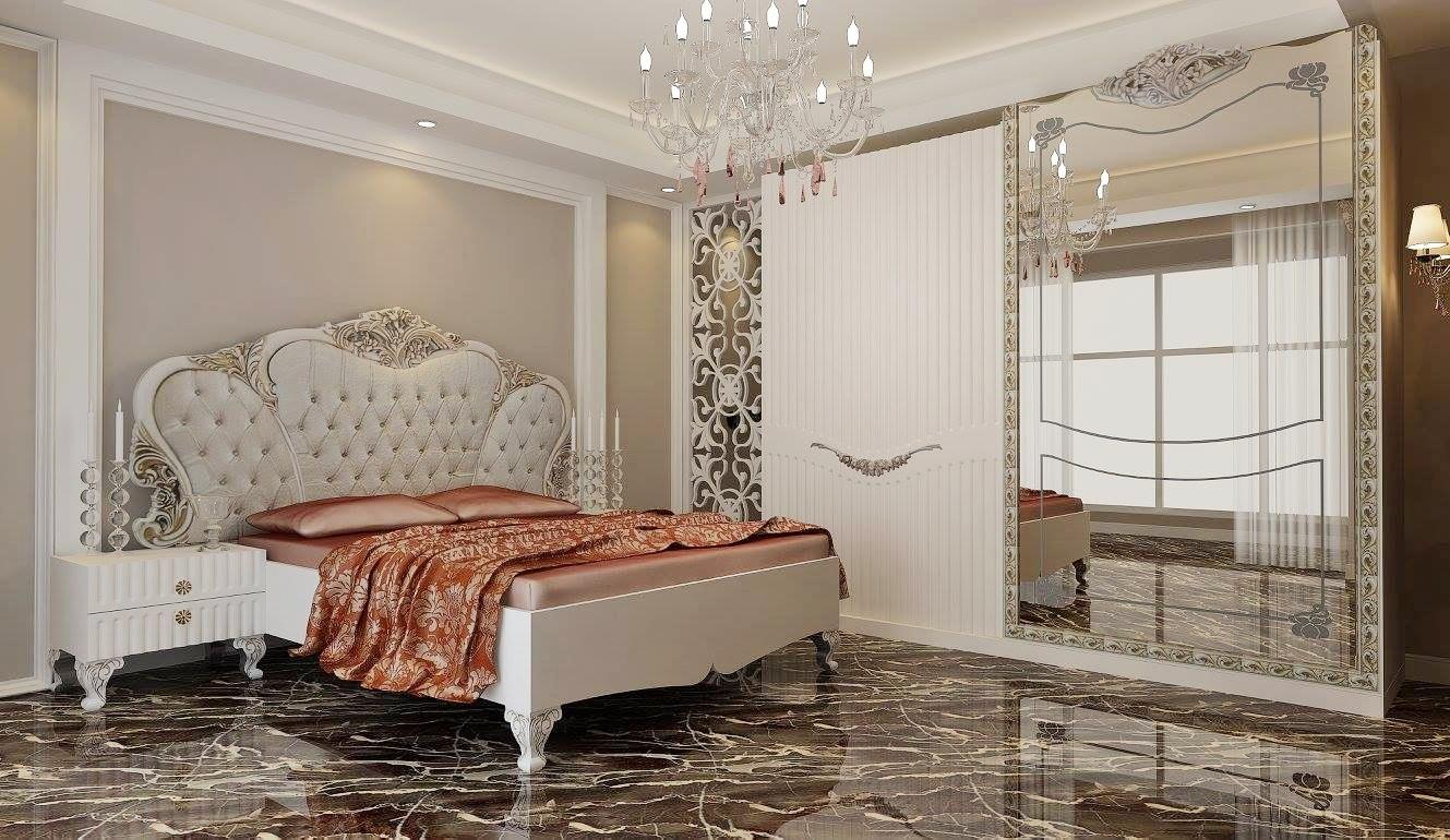 غرف نوم فخمة وراقية