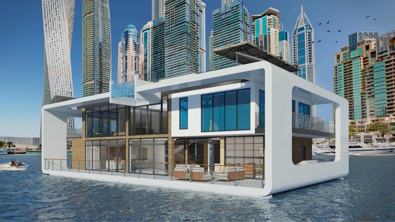 إطلاق مشروع منتجع قصر البحر العائم في دبي