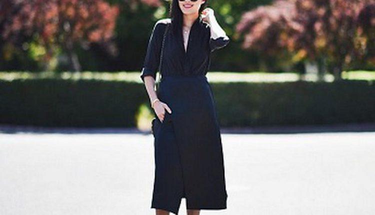 تنسيق اللون الأسود في الملابس