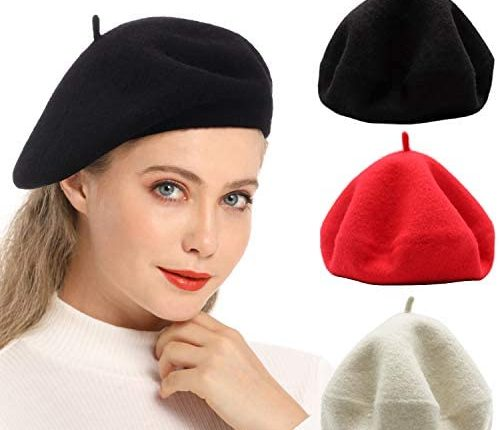 موديلات قبعات البيريه