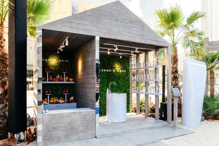 افتتاح فنتي سكين آيلاند في مهرجان دبي للتسوق