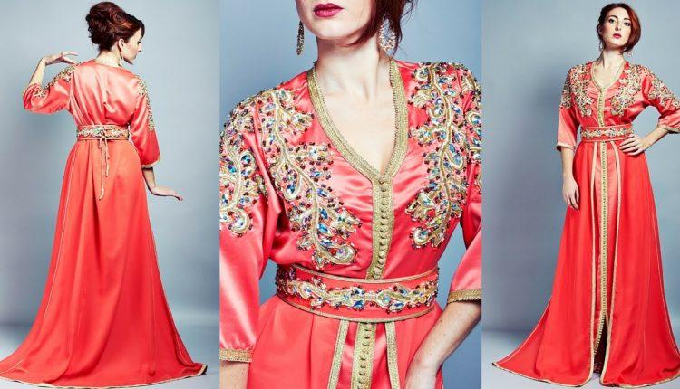 تصميمات قفاطين مغربية عصرية