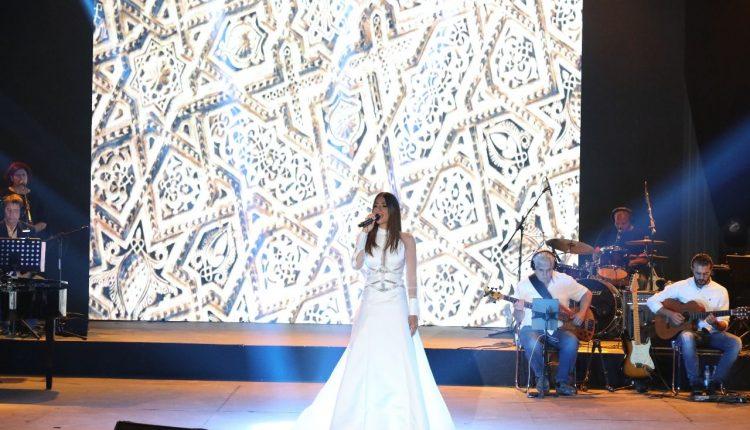 نجمات لبنانيات بالفستان الابيض