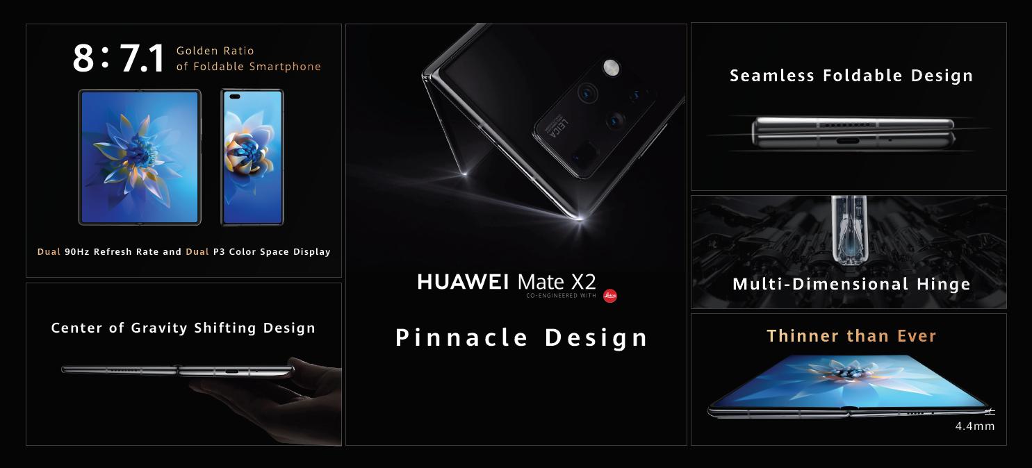 هواوي تعلن عن إطلاق هاتف HUAWEI Mate X2