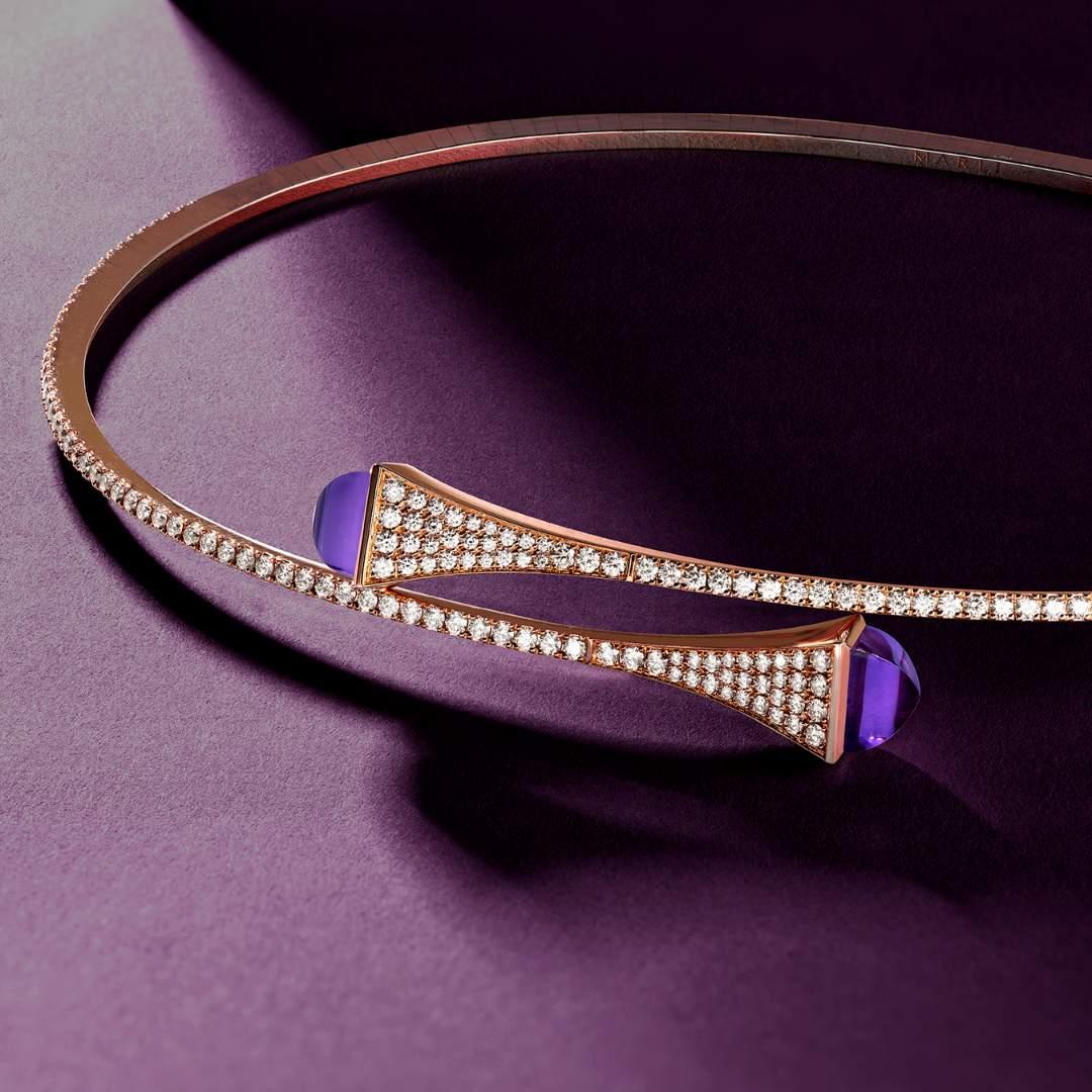 علامة المجوهرات الفاخرة مارل تدخل الجمشت إلى مجموعتها الشهيرة كليو باي مارلي