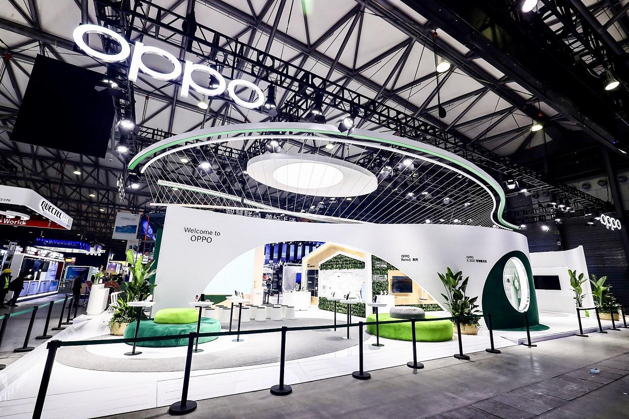 أوبو تشحن المستقبل بسرعة فائقة في المؤتمر العالمي للهواف 2021