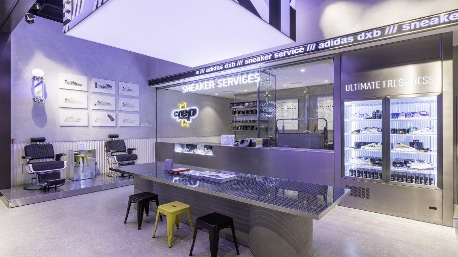 أديداس تفتتح أول متجر بمفهوم جديد في المنطقة